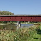 West Montrose Covered Bridge by Gillian Marshall