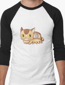 Nekobus Men's Baseball ¾ T-Shirt