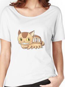 Nekobus Women's Relaxed Fit T-Shirt