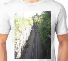 Railroad Track, Ottawa, ON Canada Unisex T-Shirt