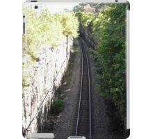 Railroad Track, Ottawa, ON Canada iPad Case/Skin