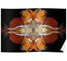 Orange Form I Poster