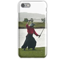Samurai Swordman - iPhone case iPhone Case/Skin