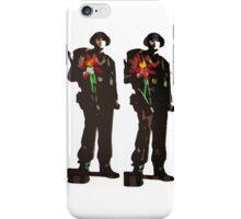 Flowers not Guns iPhone Case/Skin