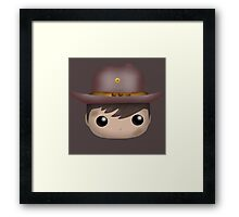 AMC The Walking Dead - Carl Grimes - Funko Pop! Framed Print