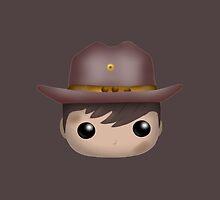 AMC The Walking Dead - Carl Grimes - Funko Pop! by MokaMizore97
