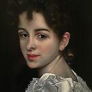 Gabrielle, After Bouguereau by Heidi Erisman