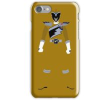Power Rangers Dino Charge Gold Ranger iPhone Case iPhone Case/Skin