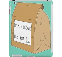 DEAD DOVE- Do Not Eat iPad Case/Skin