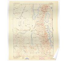 USGS Topo Map California Alturas 299714 1892 250000 Poster