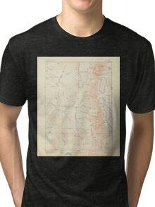 USGS Topo Map California Alturas 299714 1892 250000 Tri-blend T-Shirt