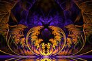 Halloween Fractal by sstarlightss