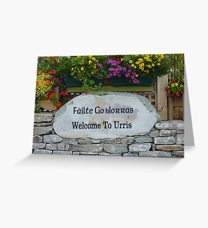 An Irish Welcome Greeting Card