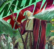 Moses Parting the Mountain Dew by mitchandcozy