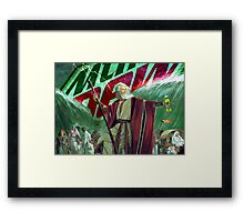 Moses Parting the Mountain Dew Framed Print