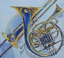 All That Shine: Jazzy Reeds and Brass by JennyArmitage