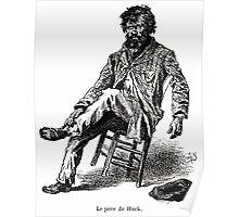 Achille Sirouy Mark Twain Les Aventures de Huck Huckleberry Finn illustration p029 Poster