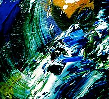 Detail from Tempest by Sheila Van Houten