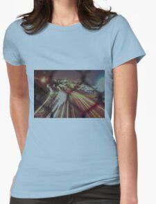 L.A. Freeway  Womens Fitted T-Shirt