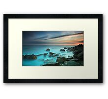 Shelly's Mist Framed Print
