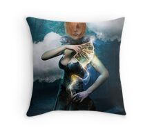 Ravenous Throw Pillow