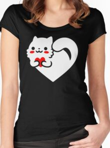 Sweet Cat Women's Fitted Scoop T-Shirt