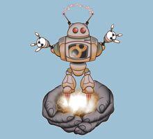 elabor8 robot Baby Tee