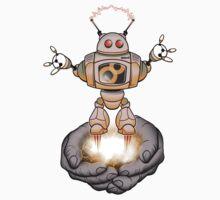 elabor8 robot Kids Tee