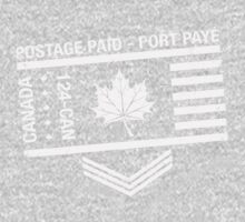 Postage Paid Canada Baby Tee