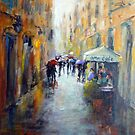 Rainy day in Rome by Ivana Pinaffo