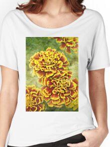 Golden Blossoms Women's Relaxed Fit T-Shirt