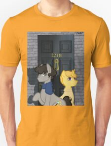 The Adventures of Sherlock Hooves: 221B Unisex T-Shirt