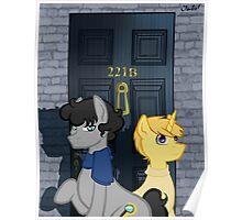 The Adventures of Sherlock Hooves: 221B Poster