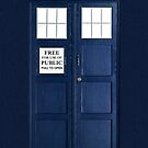 Blue Police Box by Bobby Blake