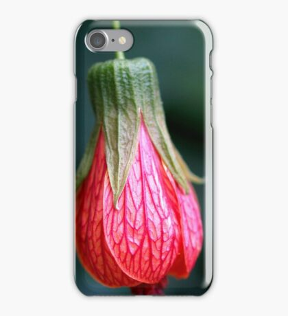 Red Floral Bell iPhone Case/Skin