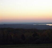 Mountaintop sunset by Joann Parent