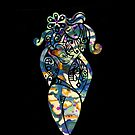 iphone case - hippy chick by MelDavies