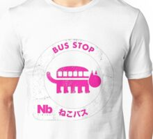 nekobus pink Unisex T-Shirt