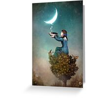 Moondrops Greeting Card