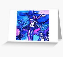 Crucifixion of Jesus  Greeting Card