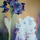 """ Purple Irises"" by Natasha Hodgson"