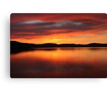 Sunrise - Midway Point, Tasmania Canvas Print