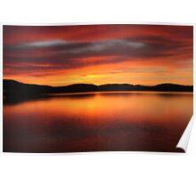 Sunrise - Midway Point, Tasmania Poster