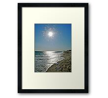October at Matunuck Beach - Rhode Island - US Framed Print