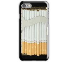 Cigarette Case iPhone Case/Skin