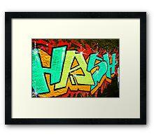 Grafhitti Framed Print
