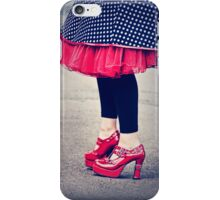 ruby shoes iPhone Case/Skin