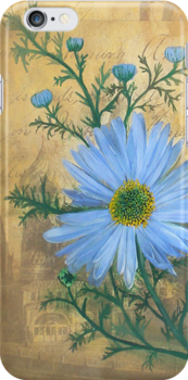 Russia's Chamomile iPhone Case by Carrie Glenn
