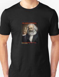 Karl Marx Revolution T-Shirt