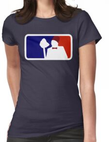 Major League Mopping Womens Fitted T-Shirt